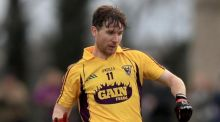 Ben Brosnan scored 0-11 against London as Wexford secured promotion from Division Four. Photograph: Donall Farmer/Inpho