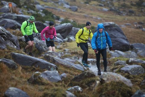 ADVENTURE RACE: Athletes competing in Quest Killarney event through Killarney National Park, along the Kerry Way and the Black Valley. Photograph: Valerie O'Sullivan