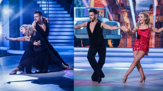 Denise McCormack: hit the high marks with scores of 28 and 27 from the judges. Photographs: RTE