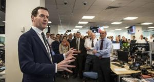 George Osborne, the former Chancellor of the Exchequer was a surprise appointment as editor of the Evening Standard