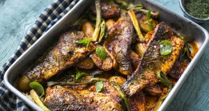 Donal skehan delicious dishes with just six ingredients for How long to cook fish in the oven