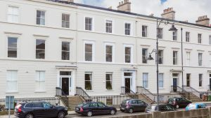 Number 27 Longford Terrace Monkstown: the  whole building extends to 441sq m (4,746sq ft)