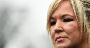Sinn Féin leader in Northern Ireland Michelle O'Neill said she intended to meet  British prime minister Theresa May in coming days to voice her strong opposition to Brexit. File photograph: Clodagh Kilcoyne/Reuters