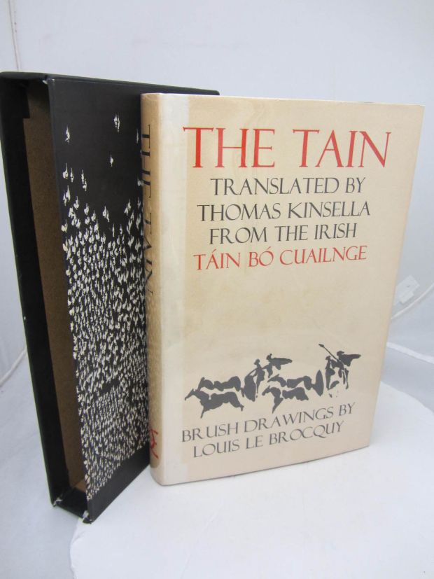 The Táin, translated from the Irish by Thomas Kinsella and illustrated by Louis le Brocquy
