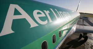 Aer Lingus  admitted exposing non-employees to risks  in relation to a practice  of cargo drivers habitually gaining access to a loading bay by climbing onto and off a 3 ft high loading dock. File photograph: Peter Muhly/AFP/Getty Images