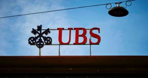 "UBS Group: The Zurich-based lender said it ""disagrees with the allegations, assumptions and legal interpretations being made"" by French prosecutors. Photograph: Michael Buholzer/AFP/Getty Images"