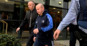 Roy Webster of Ashbree, Ashford, Co Wicklow, has pleaded not guilty  to murder but guilty to the manslaughter of Anne Shortall on April 3rd, 2015. Photograph: Cyril Byrne