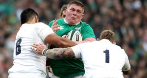 Tadhg Furlong's Six Nations performances have probably done enough to earn him a Lions starting spot. Photo: Dan Sheridan/Inpho