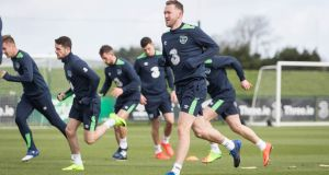 Aiden McGeady is likely to feature in Ireland's 2018 World Cup qualifier with Wales. Photo: Ryan Byrne/Inpho
