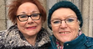 Mary Murphy (left) said the death of Martin McGuinness was 'terribly sad'. Grainne McCafferty  (right) said the Sinn Féin man was able 'to rise above that and bring other people' with him.
