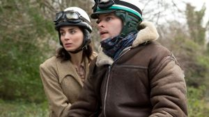 On yer bike: Rooney Mara and Jack Reynor in The Secret Scripture
