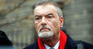 A judge at the High Court said he believes he will endorse a European Arrest Warrant that seeks to have Ian Bailey sent to France to face trial. Photograph: Eric Luke/The Irish Times.