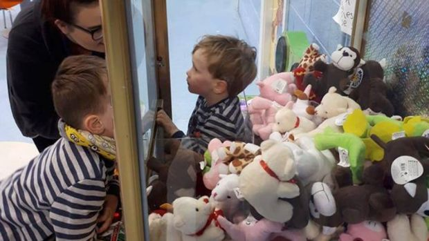 Jamie Bracken-Murphy (3), who got stuck in a toy machine in Nenagh, Co Tipperary.