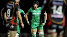 Connacht's Ultan Dillane has been ruled out for the remainder of the season. Photo: Ryan Byrne/Inpho