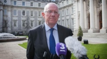 Foreign Affairs Minister Charlie Flanagan pays tribute to Martin McGuinness
