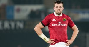 Munster lock Dave Foley will join French club Pau next season. Photo: SImon King/Inpho