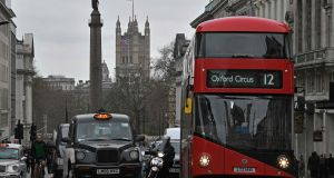 The team of researchers found that London, with its complex network of small streets, was far more taxing on the hippocampus region of the brains of drivers than Manhattan in New York which is based on a grid layout. Photograph: Justin Tallis/AFP/Getty Images