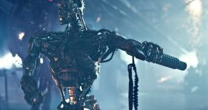 "A scene from Terminator Salvation: ""Any apocalyptic vision of AI can be disregarded,"" says Prof Luciano Floridi. The worst-case scenario is when the development of AI  benefits the minority."