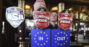 London Pride: a traditional Best Bitter for either side of the Brexit divide