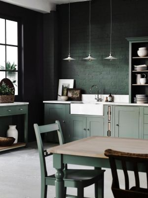 Neptune's new SS17 collection includes its Suffolk kitchen painted in a cool soft green cactus shade. The brand is stocked at Global Village (globalvillage.ie); Celbridge-based The Orchard (theorchard.ie) and Browsers in Limerick (browsers.ie)