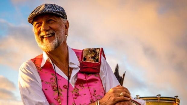 Mick Fleetwood in Maui, Hawaii in 2016. Photograph: Daniel Sullivan