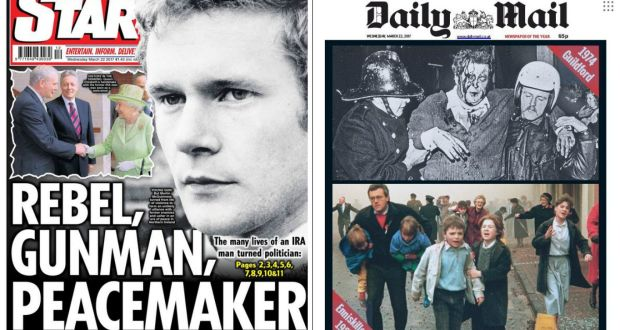 Martin mcguinness reaction of british and irish media to his death fandeluxe Gallery