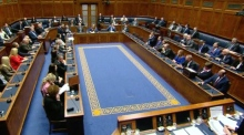 Northern Ireland's Assembly pay tribute to Martin McGuinness