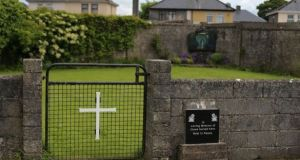 "The site of the mass grave for children who died in  Tuam. What happened ""is just so horrific, so terrible and such a shame on Ireland"", said Sinn Féin's Martin Kenny. Photograph: Niall Carson/PA Wire"