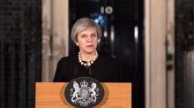 Theresa May calls Westminster attack 'sick and depraved'