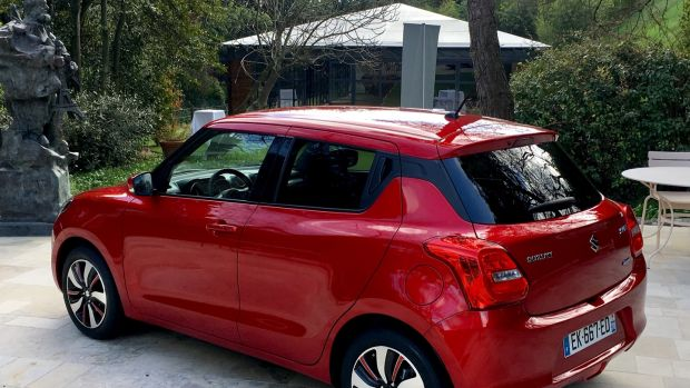 First drive: Suzuki Swift offers improved interior space yet remains