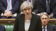 Theresa May confirms one Irish person injured in Westminster attack