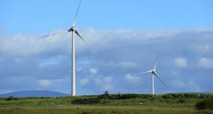 Energia's windfarm at Long Mountain, Co Antrim is one of a series of investments by the company.