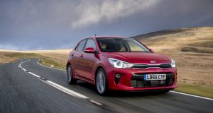 Kia Rio: Its brief from head office in Seoul is to be a sporty and youthful but   instead of funky you get ample practicality