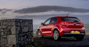 Kia Rio: The car provides the sort of legroom front and rear – and boot space – that wouldn't discredit a larger family hatchback