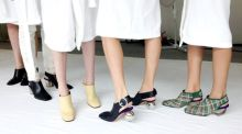 Final weekend for Céline pop-up shoe collection in BTs