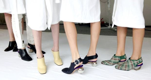 cf37fd25ab38 Final weekend for Céline pop-up shoe collection in BTs