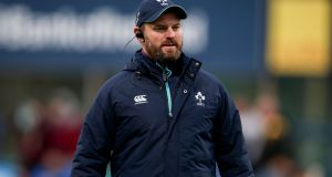 Nigel Carolan will step down as Ireland under-20 coach to join the coaching staff at Connacht. Photograph: Gary Carr/Inpho
