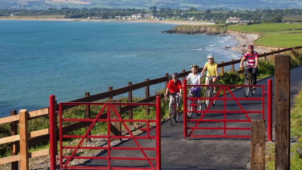 On the Waterford Greenway, the longest off-road walking and cycling trail in Ireland