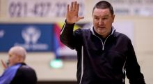 Ambassador UCC Glanmire head coach Mark Scannell. Photograph: Tommy Dickson/Inpho.
