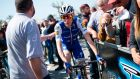 Quick Step Floors' Dan Martin remains 13th overall in the Volta a Catalunya. Photograph:Josep Lago/AFP/Getty Images