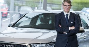 "Audi Ireland's Henning Dohrn: ""We will have three fully electric vehilces on the market by 2020"" Photograph: Alan Rowlette"