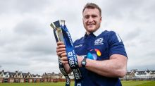 Scotland's Six Nations 2017 Player of the Year Stuart Hogg will turn out for Warriors on Saturday. Photograph: James Crombie/Inpho.