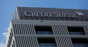 Credit Suisse increased  bonuses by 6 per cent despite heavy losses at Switzerland's second-biggest bank. Photograph: Kacper Pempel/Reuters