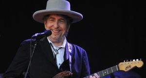 Bob Dylan: new album.  Photograph: Fred Tanneau /AFP