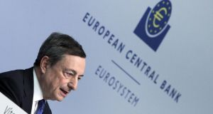 Mario Draghi: his statements  last year that a recovery was on the way were widely dismissed as wishful thinking