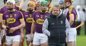 Davy Fitzgerald and his Wexford charges will not be letting up against Laois on Sunday. Photograph: Lorraine O'Sullivan/Inpho.