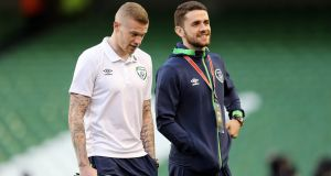 Ireland missed the creative qualities of Robbie Brady. Photo: Ryan Byrne/Inpho