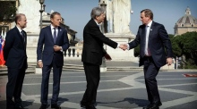 Taoiseach Enda Kenny attends EU summit in Rome