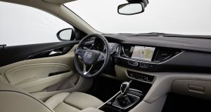 The new Opel Insignia's cabin is a lot more refined and with far fewer buttons