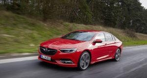 The new Opel Insignia is now sleeker in profile and  less imposing than the current Mondeo